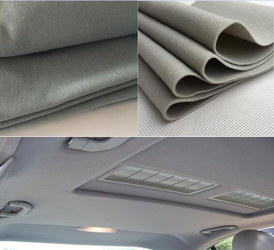 Best Quality Car Automotive Upholstery Fabric Customizd Thickness Trunk Mat Nonwoven