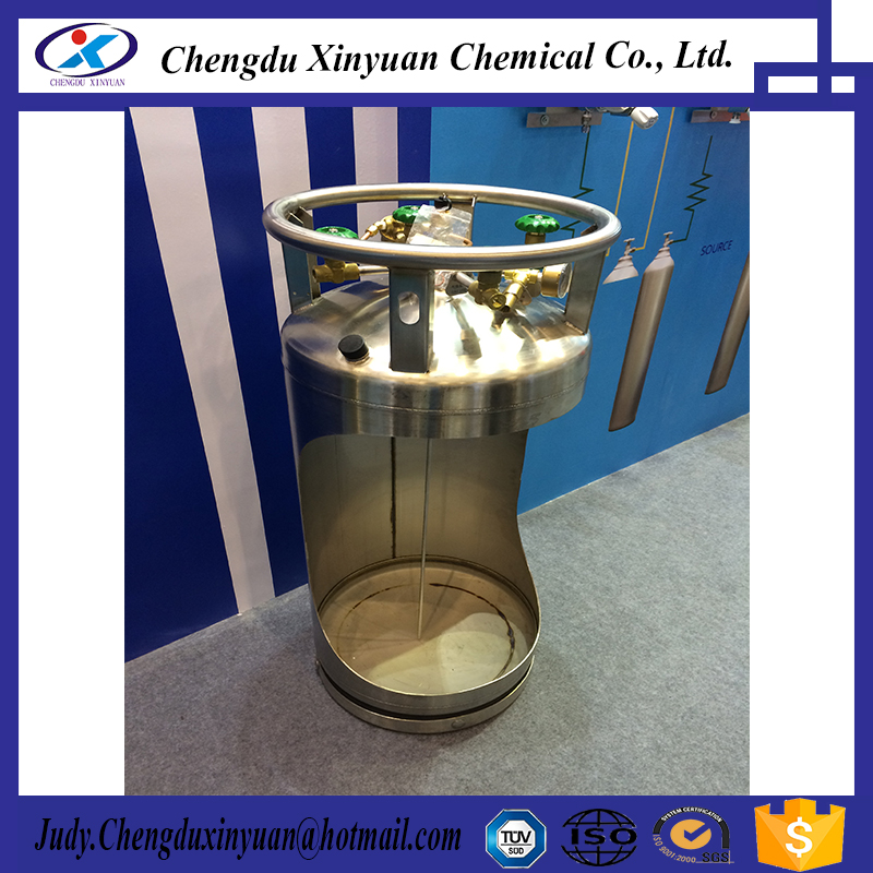 Cryogenic Welding thermal insulation Cylinder for liquid nitrogen oxygen gas