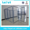 low price low MOQS heavy duty luxury metal welded wire outdoor dog run