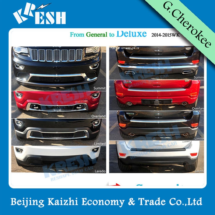 Best Selling Jeep Grand Cherokee Body Kit With Summit