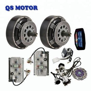 Qs 273 8000w 72v Electric Car Hub Motor Conversion Kit 16kw And
