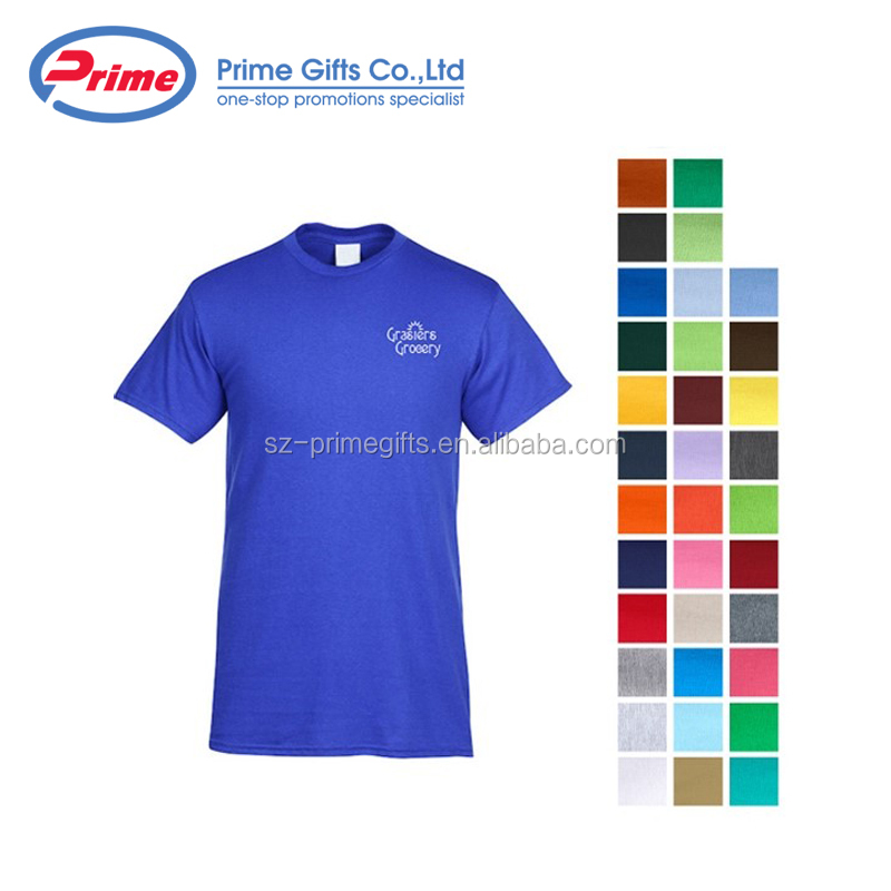 Hot Selling Men's 100% Cotton Promotional T Shirt