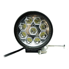 Super Bright Aluminum Housing 12V 27W Led Work Light in Auto Lighting System for ATV SUV Truck Offroad Vehicles 12v 24v 27