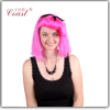 fashion cosplay pink wigs peruvian hair u part wig