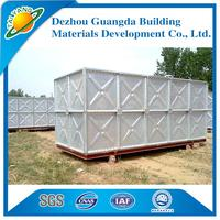 galvanized water pressure tank Easy to install stainless steel water tank Factory outlets Square tank