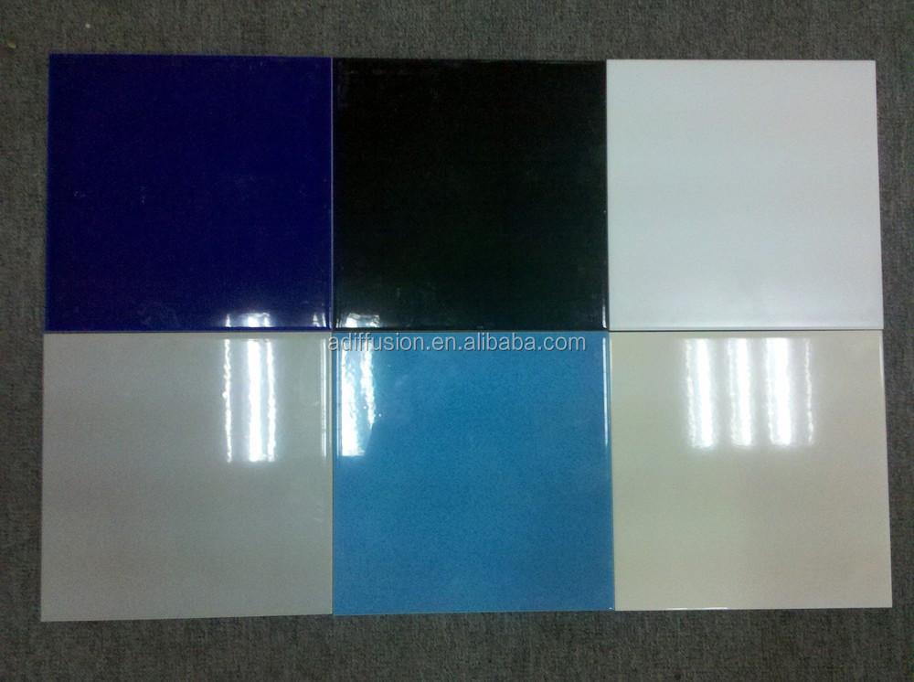 10x10 15x15 20x20 cm blanco azulejo de cer mica - Azulejos 20x20 colores ...