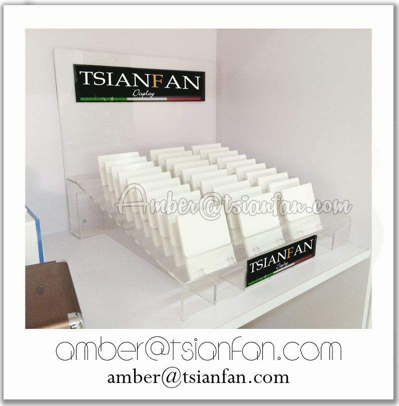 Acrylic Quartz Stone Sample Countertop Display Stand from China