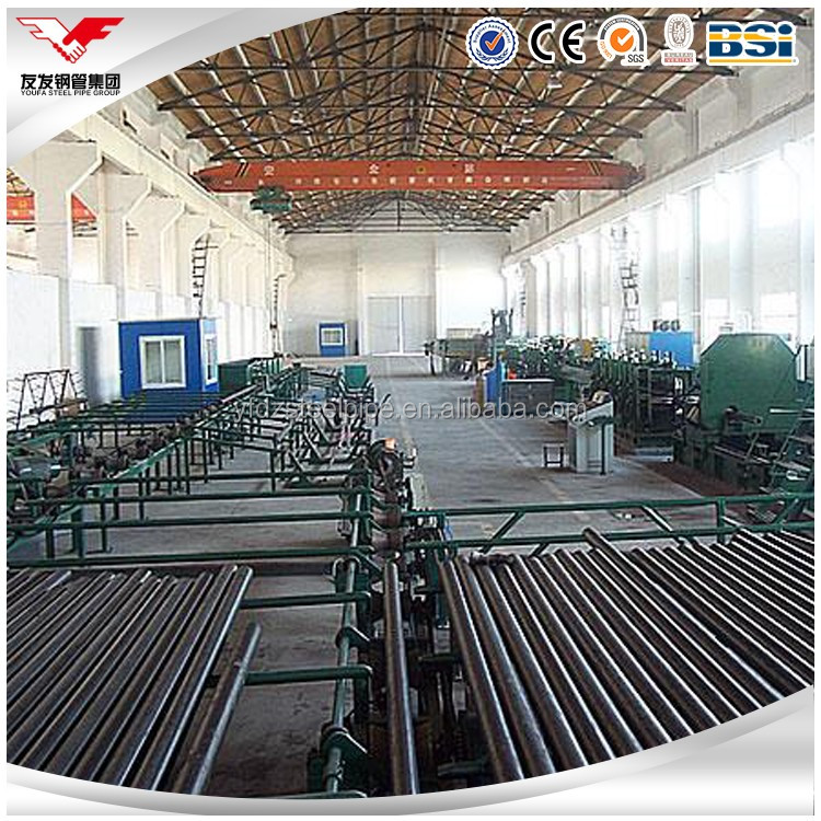 Hot-rolled seamless carbon steel pipes for building materials