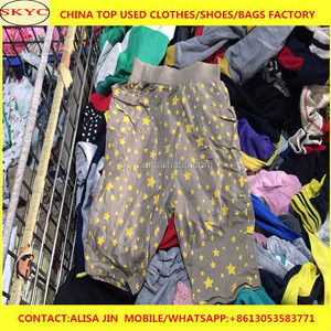 eec908d93f Used clothes Guangzhou market high quality sorted children second hand  clothes in bales 55kg for Africa