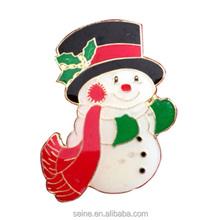 lovely snowman y corona pines chapitas nicas extractor de metal artesana