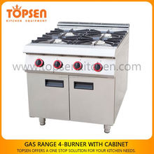 All stainless steel industrial chinese gas range, commercial gas range, wholesale gas range for sale