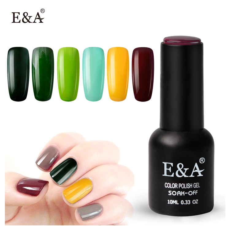 EA cor privada uv soak off uv/led bling cor das unhas polonês gel