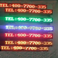 IP65 waterproof consistant quality high brightness cheap price Best Sell informative traffic signs