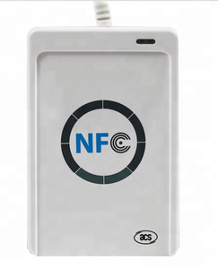 RS232 nfc reader 13.56mhz s50 rfid card reader writer rfid duplicator with free SDK HF230