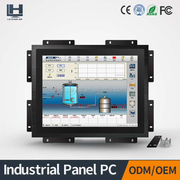 fashional design 15 inch all in one touch screen pc with aluminum alloy enclosure