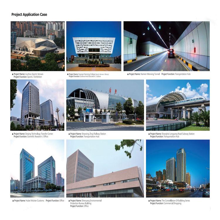 Materiale della decorazione della parete/Segnaletica/Billboard/Porta ACP pannello composito in alluminio in Shandong, Cina