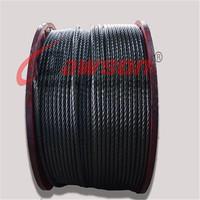 Ungalvanized Steel Cable 7x7 7X19 Steel Wire Rope