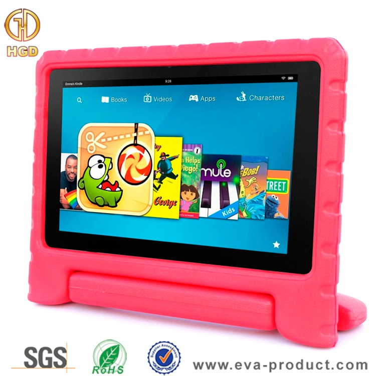 Kids shockpfoof convertible handle stand amazon fire tablet cover for amazon fire hd 10 case