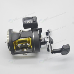 Low Price Anodized Aluminium Spool Trolling Reels For Sea Fishing