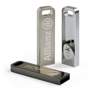 Bulk cheap mini Metal usb flash drive sticks with custom logo for more than 10 years experience