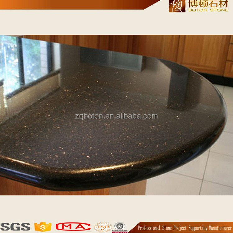 customized Color Artificial Quartz Stone for kitchen Counter Tops