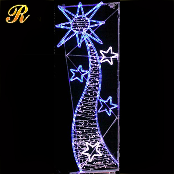 2015 Hot sale elegant flashing led pole light party theme