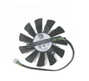 Luxuriant July PLA09215B12H DC Graphics Card Fan 12V 0.55A 87mm For MSI N560 570 580GTX HD6870 87mm Cooling Fan Cooler