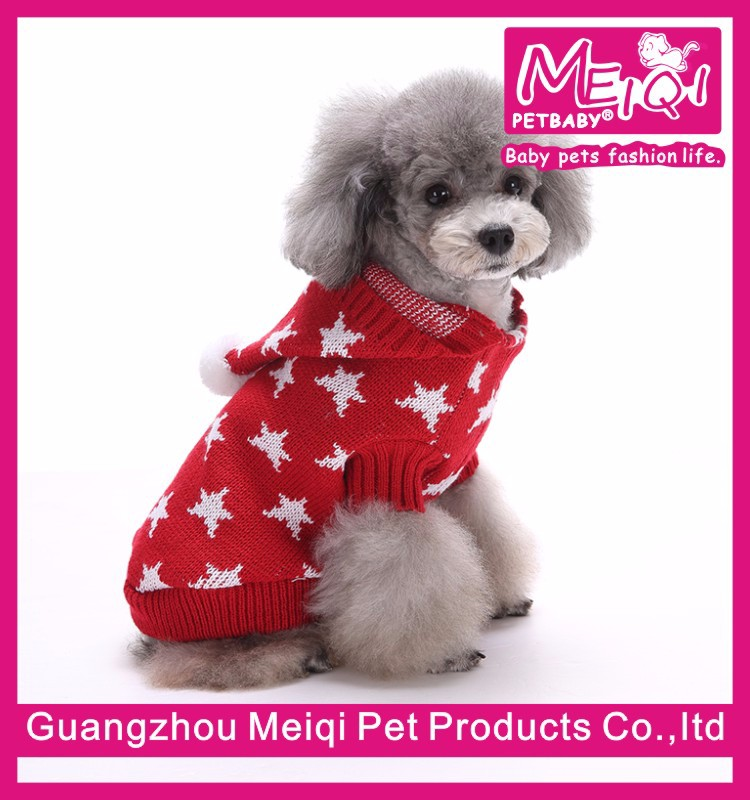 Star design free pattern knitting pattern for dog sweater high quality heated dog sweater