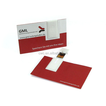 Cheap Bulk Business And Credit Card Usb Flash Drive With Custom Logo