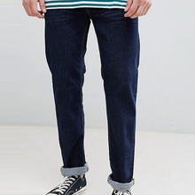 <span class=keywords><strong>Mannen</strong></span> mode gewassen denim <span class=keywords><strong>broek</strong></span> casual straight fit donkerblauw heren <span class=keywords><strong>jeans</strong></span>