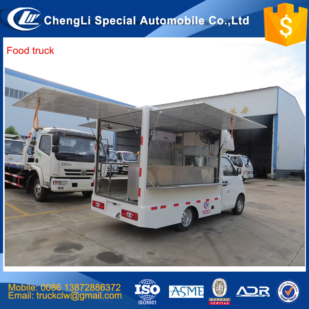 HOT SALES BEST QUALITY food truck with kitchen equipment food truck with equipment food truck with window