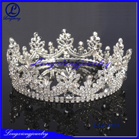The Most Popular Golden Plating Rhinestone Crown Tiaras