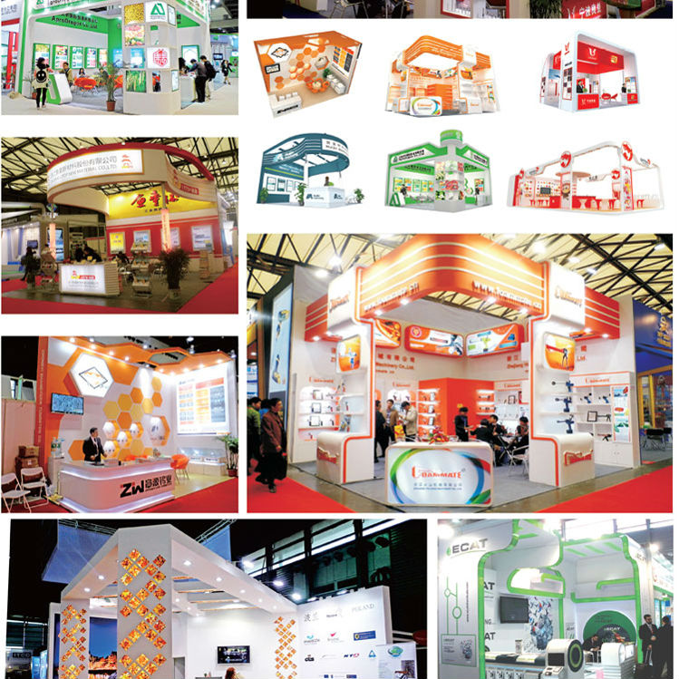 Fabric Exhibition Stand Examples : Simple portable small exhibition booth stand made of