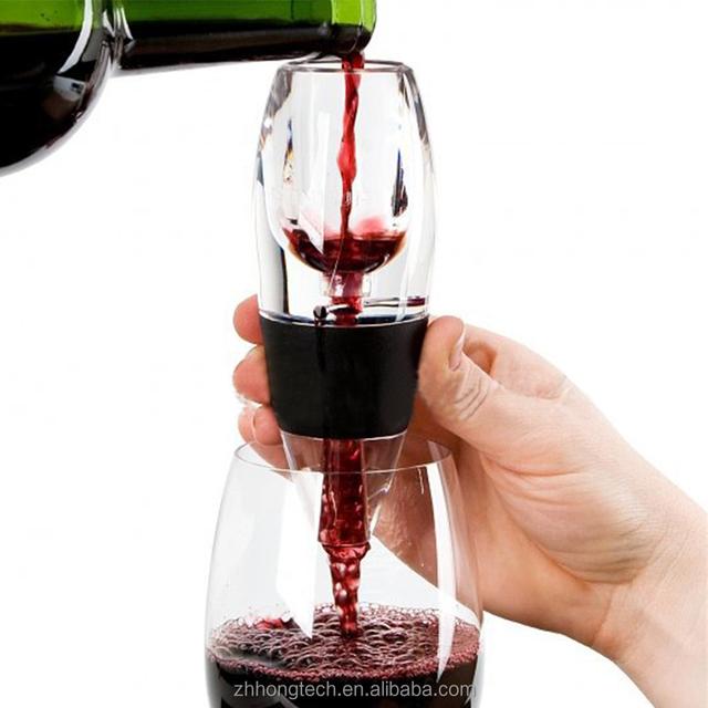 Fast Red Wine Aerator Filter Set Magic Decanter Essential Wine Aerator  Portable