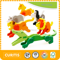 2016 Different Design Animal 3D Puzzle For Little Kids Educational Puzzle Games Cheap Puzzle Toy For Sale As Child Gift