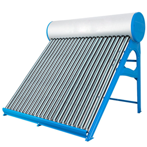 Portable low pressure heater boiler Factory Compact Colored Steel Non-pressure solar water