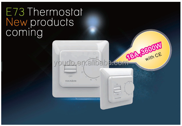 220v 16A electric thermostat for floor <strong>heating</strong>
