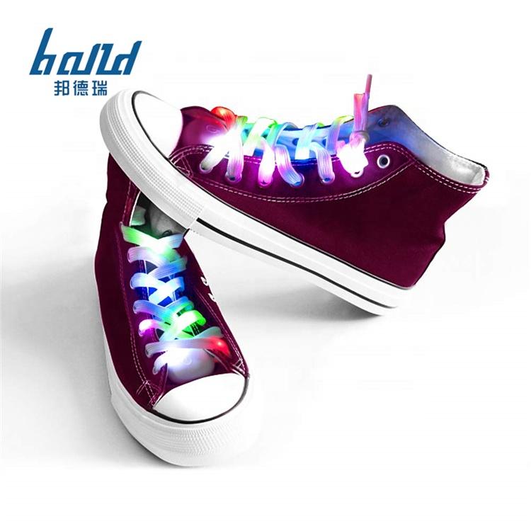 Glasfaser LED Laufschuhe für Jungen und Mädchen Wiederaufladbare Leuchtende Schuhe für Männer und Frauen