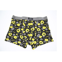 Wholesale custom colorful spandex soft bulk men's boxers underwear