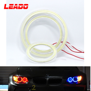 Single Colors Led Angle Eyes halo Ring COB