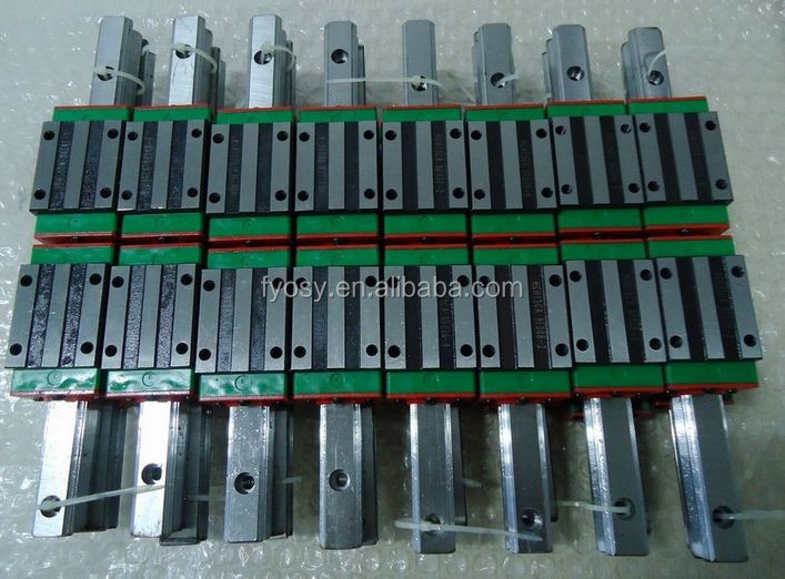 china factory supply cnc linear motion slide rail HGW25 HGW25CA hiwin linear guide