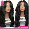 Brazilian Virgin Human Hair Full Lace Wig Natural Wave Lace Front Wig Remy Hair Glueless Full Lace Wig Wavy For Black Women