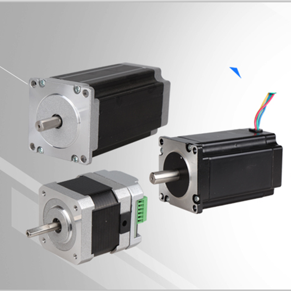 High Torque Two Phase Nema 23 24v Stepper Motor