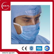 CE/FDA/NELSON/ISO Surgical Nose Wire Disposable Face Mask with Shield