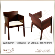 Modern Hotel Restaurant Armrest Chair Ding Room Chairs
