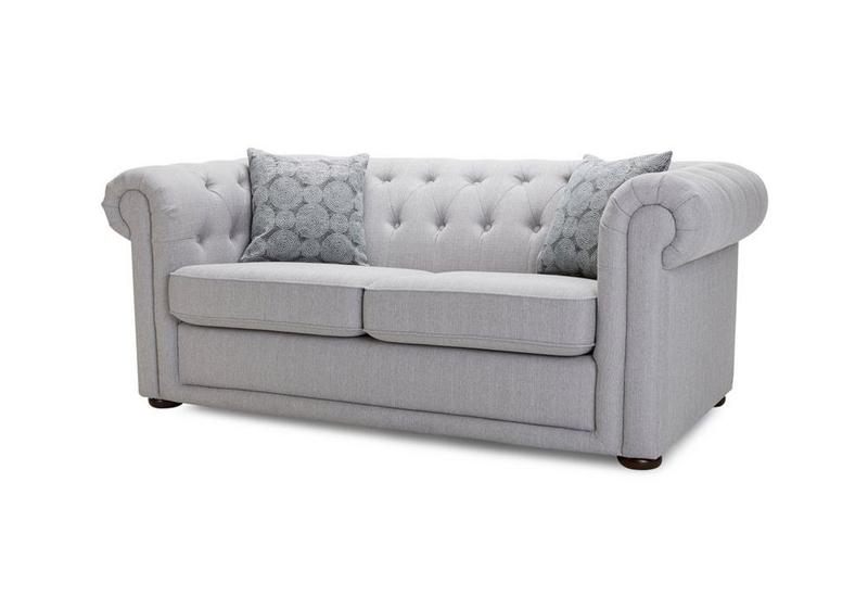 Stile europeo queen size chesterfield divano letto con materasso