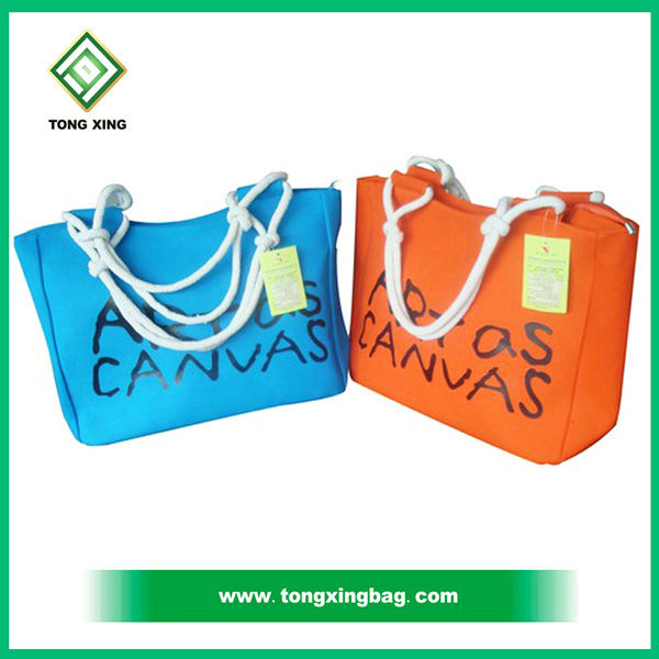 Tongxing hight quality cotton picking bags for Dark Green large custom cotton grocery bag