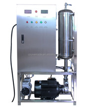 drinking water ozonator machine with mixing pump,contact tank all in one system