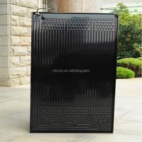 High quality roll bond thermodynamic solar panels,flat plate air solar collector
