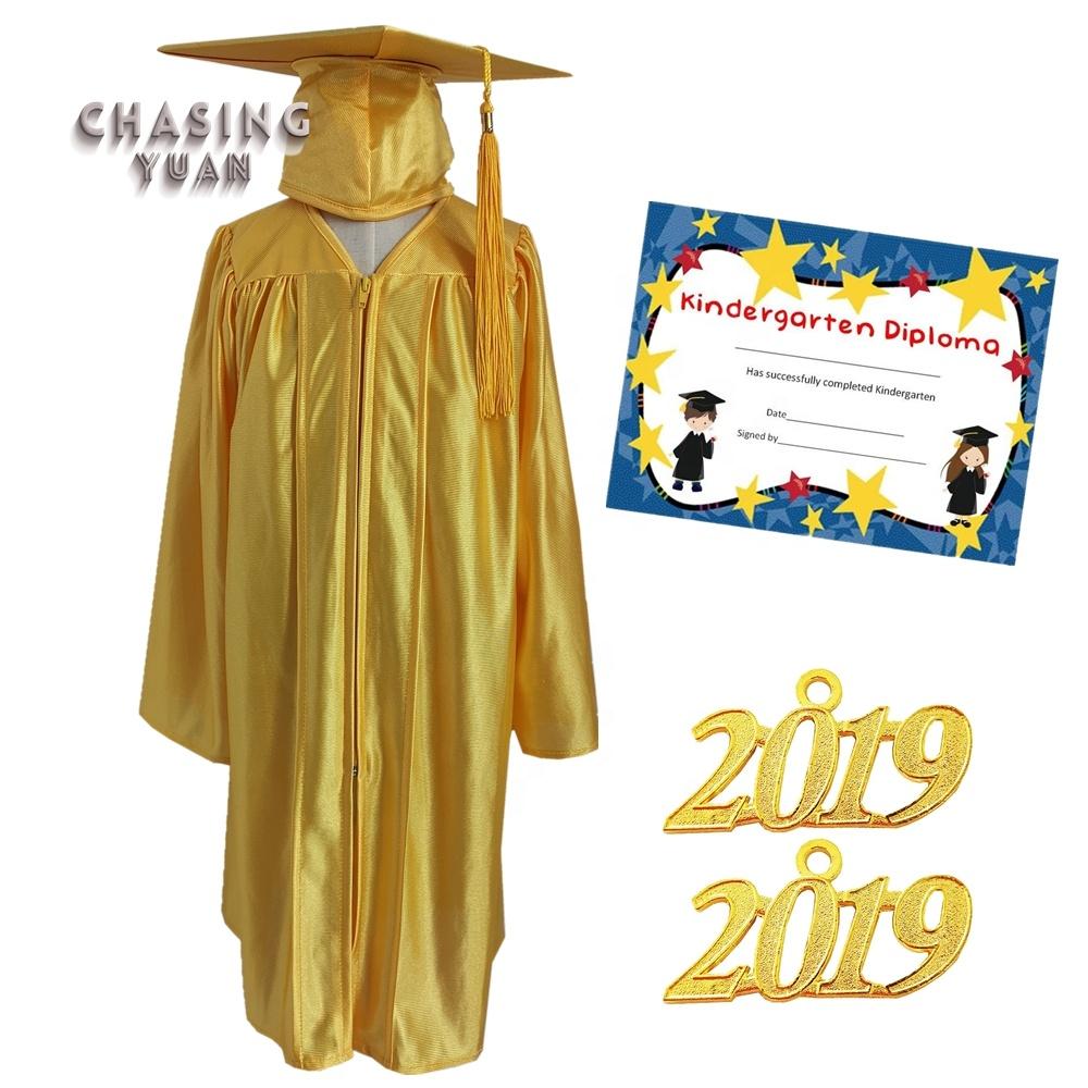 ad224d4fc5f Children Graduation Gown With Kindergarten Kids Diploma Graduation Boy And  Girl Diy - Buy Children Graduation Gown